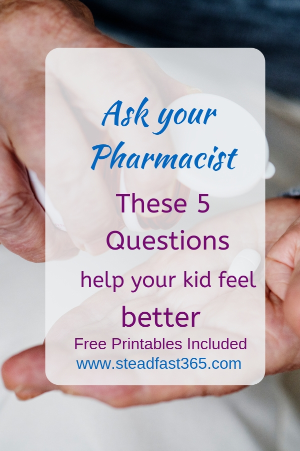 Busy Moms ask these 5 Questions to the Pharmacist