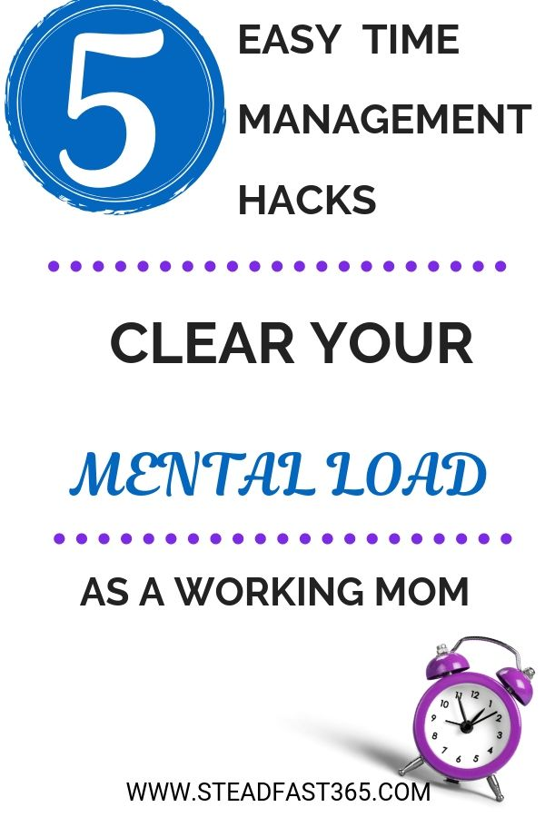 Do you ever get lost in the mental load and then it feels like time escapes you? Especially when you have so much to do including special bonding time. You know the secret is time management but how? Click through to read this post on simple time management techniques working moms use. Turn wasted time into opportunities for loads of free time to do what matters most to you.
