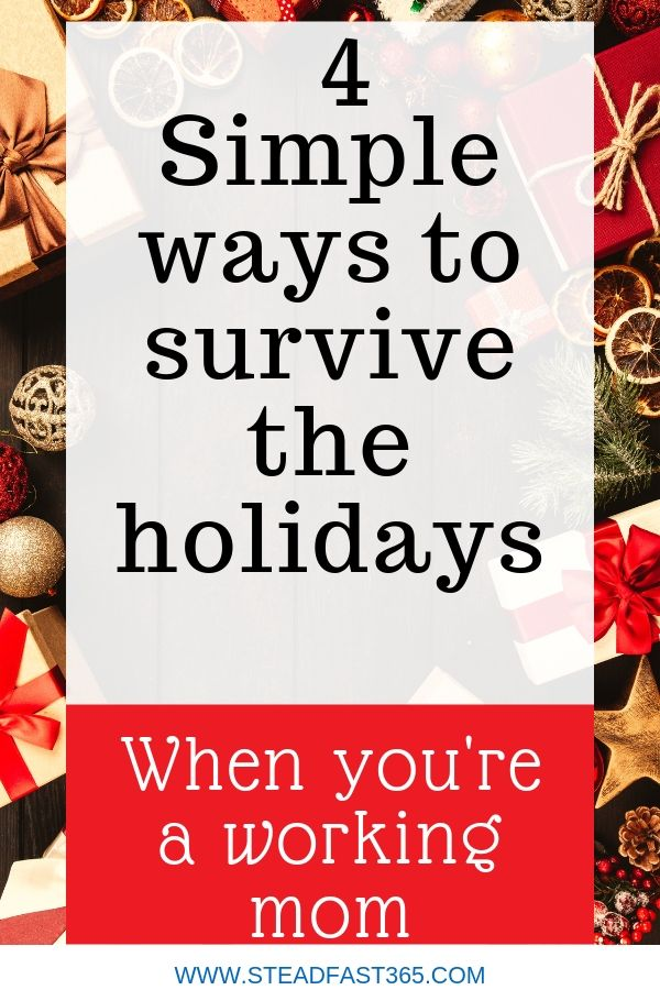 Is smoke coming out of your ears just thinking about holiday stress? Well, if a successful holiday feels impossible to you based on past experiences then you may have experienced the infamous mama holiday burnout. Here are some time saving tips to guide you and comfort you through any holiday season.